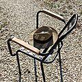 Deuxième vie pour mes chaises en fer.