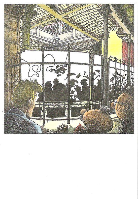 Carte éditée par le Centre belge de la BD (1989)