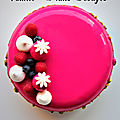 Entremets <b>Cream</b> Cheese Vanille Fruits Rouges