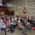Le public durant la conférence du professeur Hudemann