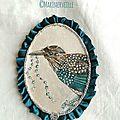 Médaillons conte d'oiseau n°14