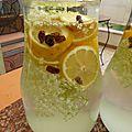 11 juin -la limonade maison qui m'a fait rajeunir....