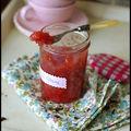 Marmelade de poires et <b>hibiscus</b>