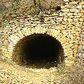 Tunnel de carrier accollé à une caborne, chanelette première partie.