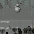 Blender tutorial: winter scene : 3/3