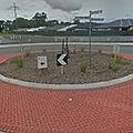Rond-point à Dayton (<b>Australie</b>)