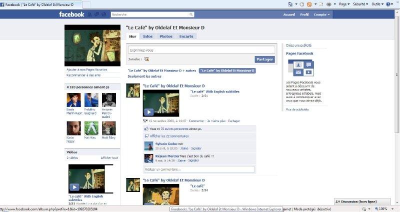 le cafe on facebook
