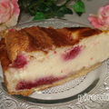 Gâteau au fromage aux framboises # 2