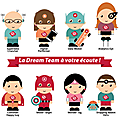 La dream team optimal ways