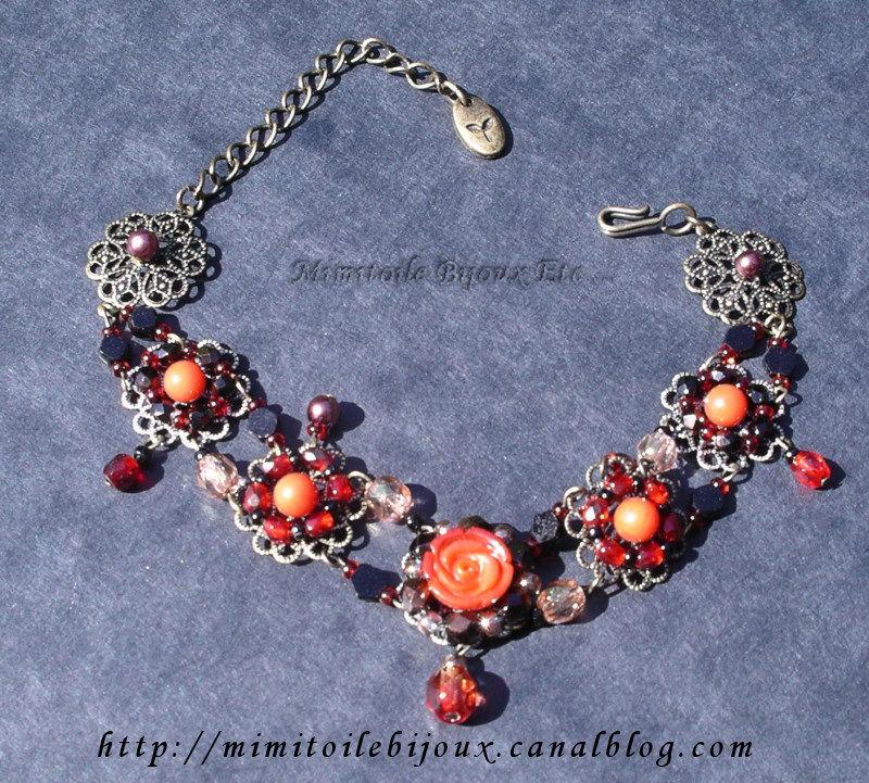 Bracelet rouge kit japonais