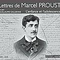 Lettres de <b>Marcel</b> <b>Proust</b> : L'enfance et l'adolescence lu par Guillaume Gallienne (livre audio)