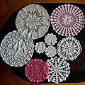 napperons crochets rose 2