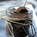Petit mix pour chocolat chaud au caramel salé