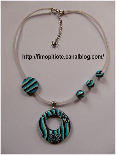 bijoux en pate fimo collier bracelet (2)