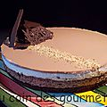 Gateau 3 chocolats