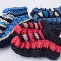 Mes petits chaussons en laine