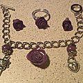 Rose violette !