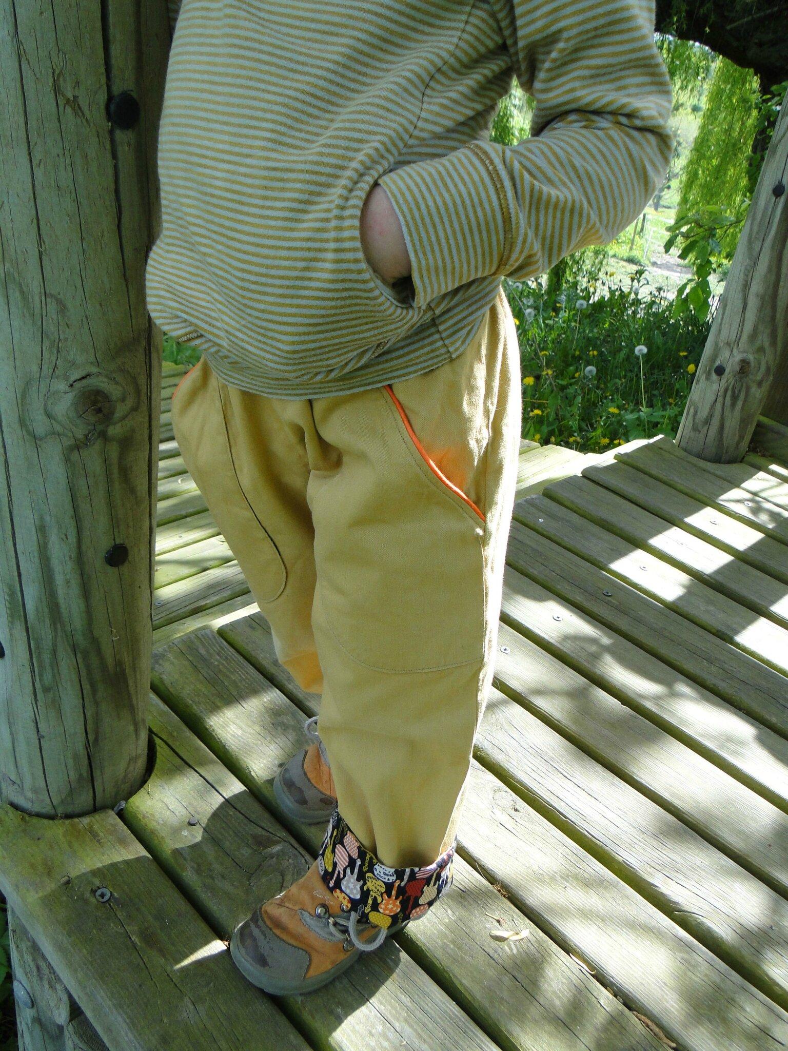 pantalon à taille élastiquée les Bêtes de Céline