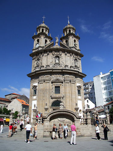 Pontevedra-Sanctuario de la Virgen
