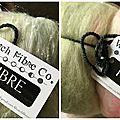 New fibers to spin! de jolies fibres à filer!