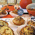 Muffins à la confiture de citrouille