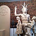 L'église américaine de satan a présenté un projet de monument consacré au diable, à côté d'un bâtiment de l'etat
