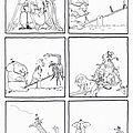 6 images séquentielles de l'album : un tout petit coup de main de ann tompert , dessin de lynn munsinger, éditions kaleidoscope