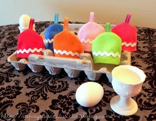 Egg cozy Au pays des Cactus