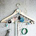 Vu chez les autres #10: le cintre porte-bijoux