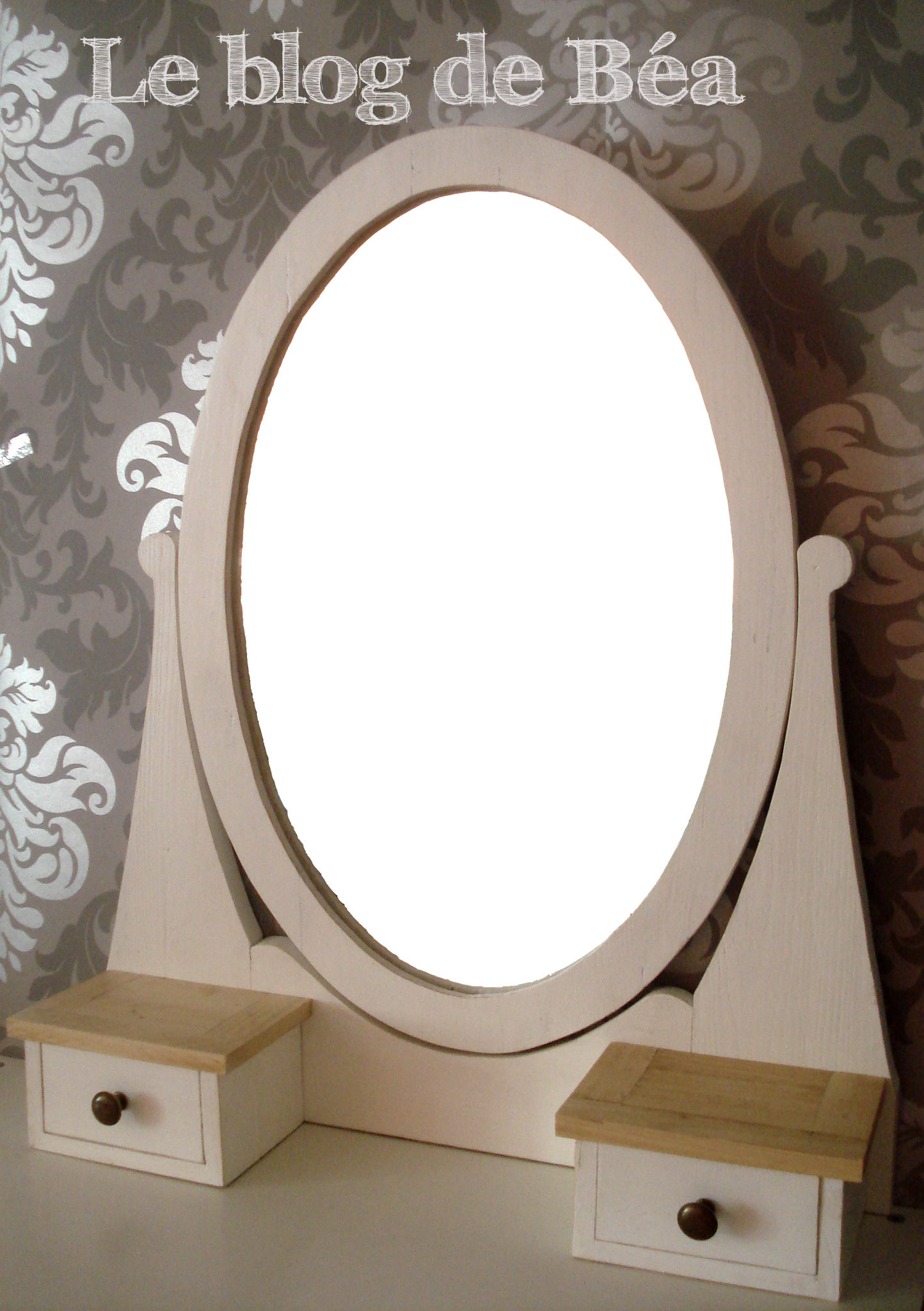 Miroir coiffeuse