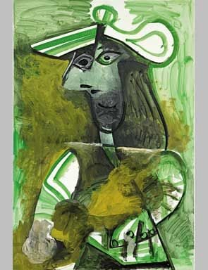 Picasso Portrait from the Collection of Julian Schnabel @ Christies ...