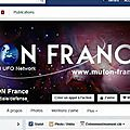 Rendez-vous sur la page facebook du mufon france
