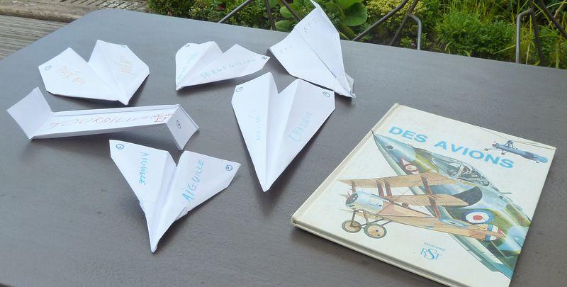 Avions en papier-2è série