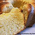 0219 Gâteau à la semoule au lait, rhum et vanille 1 Couv