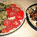 Tom(m)e, tomates, courgettes, aubergines