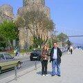devant la forteresse Clo & Memo