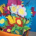 Un bouquet de fleurs plein de bonheur