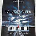 Affiche de film - la note bleue