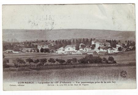 08 - COMMERCY - Quartier du 155e d'Infanterie