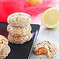 Délicats biscuits <b>poudrés</b> (Vegan)