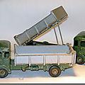 Camion <b>Simca</b> Cargo benne basculante ...