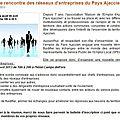 Rencontre des <b>réseaux</b> <b>d</b>'<b>entreprises</b> du Pays Ajaccien