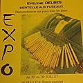 Expo dentelle aux fuseaux à laroque