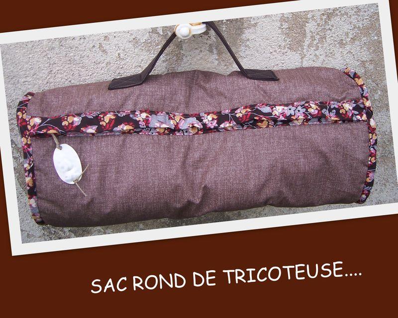 SAL SAC ROND...SAC A TRICOT POUR GERMAINE