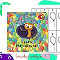 Cat and mouse learn the colours, au ce2 : écriture d'un livre en anglais