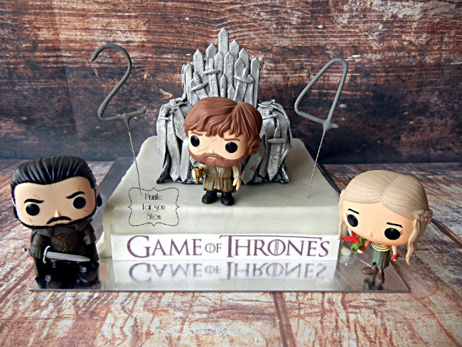 gateau game of throne prunillefee
