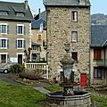 fontaine à Saint-Nectaire