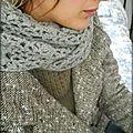 Mon écharpe japonaise...