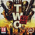 Army of two le 40eme jour par jeu video giga france (playstation 3 / playstation portable / xbox 360)