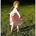 L'histoire (un peu longue) de la robe qui faillit ne pas voir la fête!